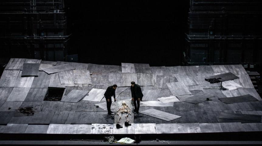 Crítica do espectáculo The Great Tamer do coreógrafo grego Dimitri Papaioannou, apresentado no Teatro Rivoli a 9 de Março de 2018.