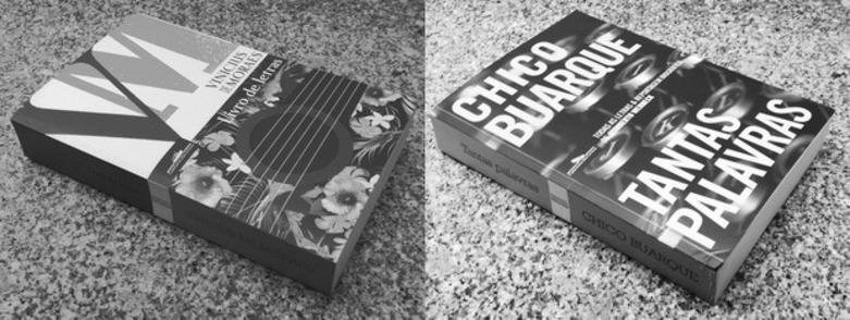 Recensão dos livros Tantas Palavras de Chico Buarque, e Livro de Letras de Vinicius de Moraes, edições da Companhia das Letras de 2018 e 2017   INTRO