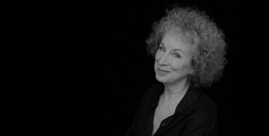 Reportagem da conferência da escritora canadiana Margaret Atwood no Fórum do Futuro 2018, no Teatro Rivoli, a 8 de Novembro   INTRO