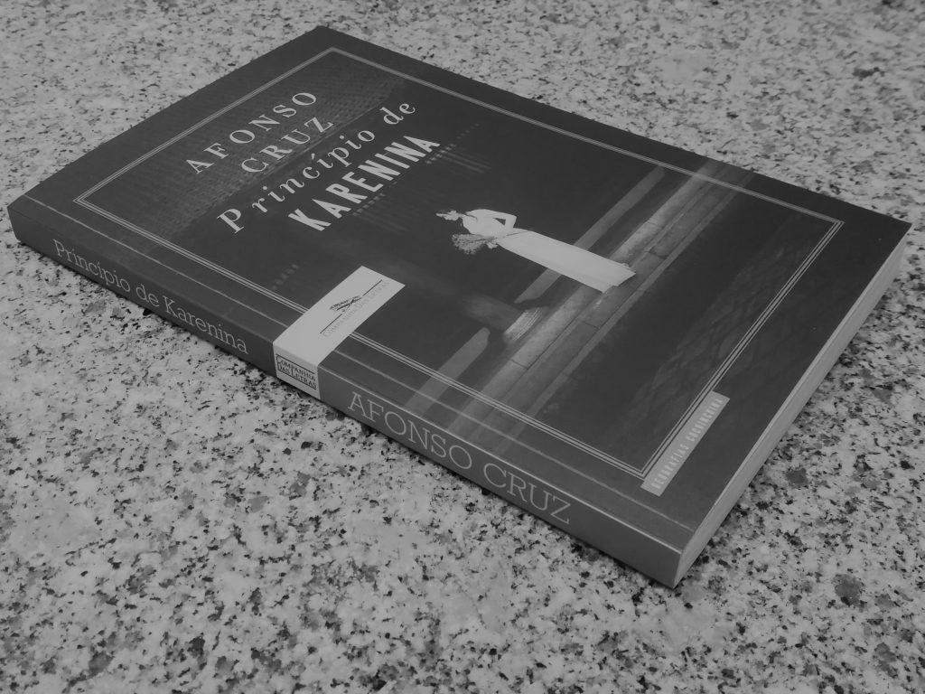 Recensão do livro Princípio de Karenina escrito por Afonso Cruz e publicado pela Companhia das Letras em 2018 | INTRO